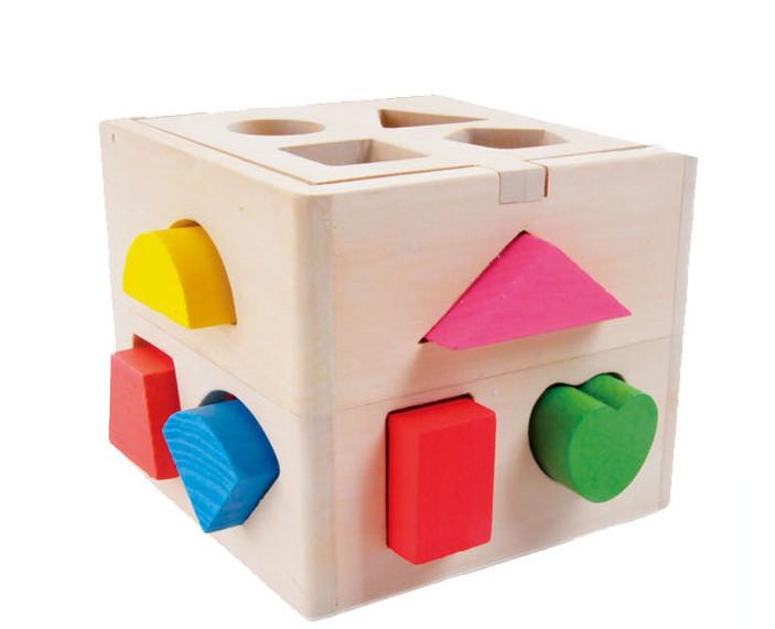 儿童益智玩具几何认知积木