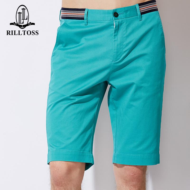 YK8耀客时尚休闲系列 新款高档男装短裤男 蓝色 款号:yu-28041