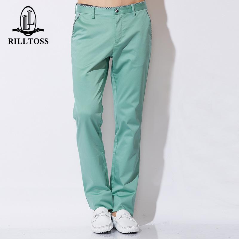 YK8耀客时尚休闲系列 简洁大方休闲长裤薄款男式 白色 款号:qr-18842