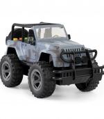 惯性越野车模型儿童益智模型玩具 灰色