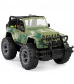 惯性越野车模型儿童益智模型玩具 军绿
