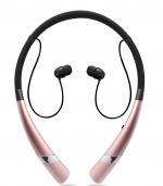 新款蓝牙耳机运动蓝牙耳机 玫瑰金