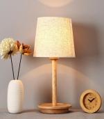 现代简约床头台灯 木色