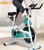 动感单车家用健身车运动单车健身自行车 绿色