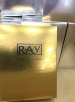泰国RAY面膜金色银色蚕丝补水面膜 金色