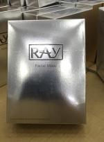 泰国RAY面膜金色银色蚕丝补水面膜 银色