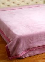 负离子高雅保健双人被系列 粉色