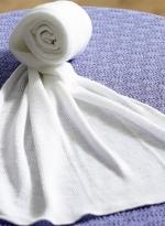 负离子萬用長巾 白色