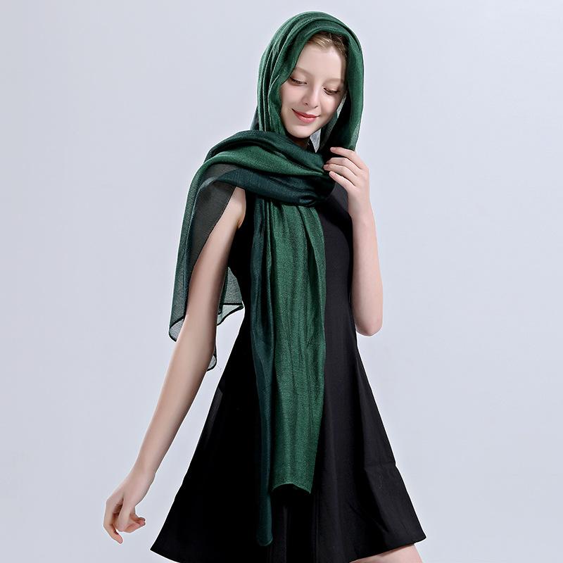 YK8耀客真丝类围巾 桑蚕丝丝巾真丝羊毛围巾 粉色 款号:dc-94303