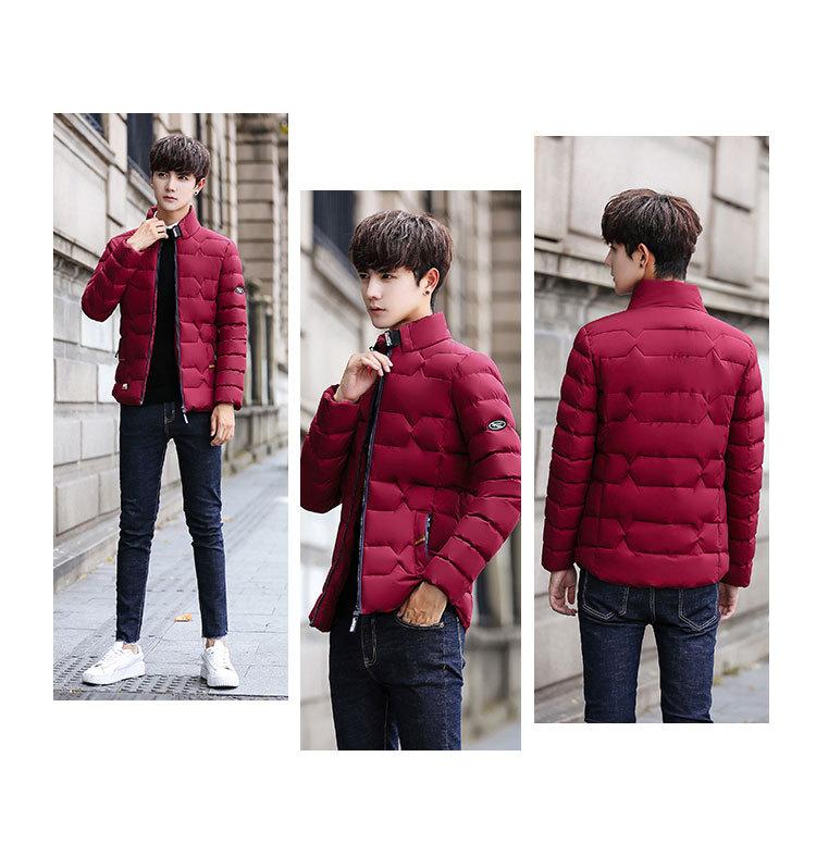 YK8耀客棉衣外套系列 青少年男士棉衣外套长袖 红色 款号:zn-27555