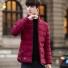 青少年男士棉衣外套长袖 红色