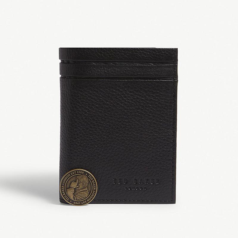 YK8耀客箱包品牌系列 哈兰皮革三折钱包 棕色 款号:nx-39401