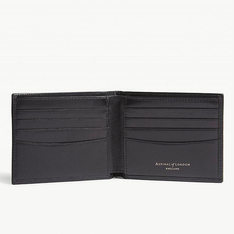 YK8耀客箱包品牌系列 Billfold皮革钱夹包 黑色 款号:oj-46522