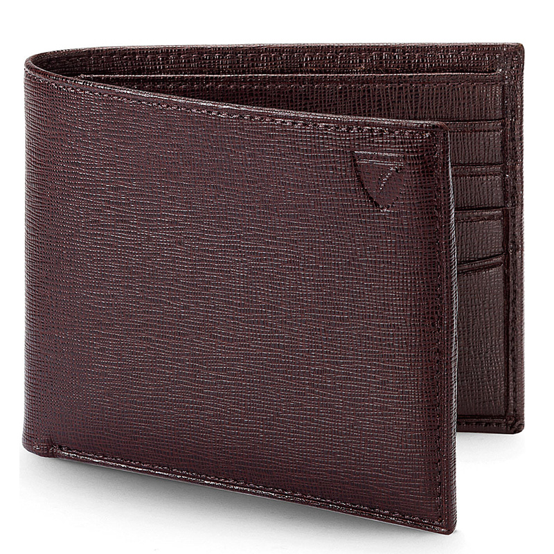 YK8耀客箱包品牌系列 伦敦皮夹皮革钱夹包 棕色 款号:hh-10992