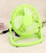 便捷式超静音电风扇 绿色