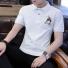 T恤衫男短袖新款 白色