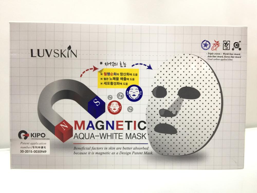 YK8耀客日韩等亚洲护肤品系列 露沃斯磁石微循环面膜 白色 款号:ni-4000