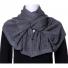 负离子围巾系列 灰色