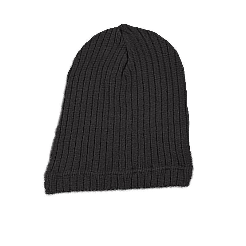 YK8耀客负离子时尚百搭帽 负离子保健针织帽子 黑色 款号:AS009