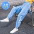 儿童天丝牛仔裤子薄款 蓝色
